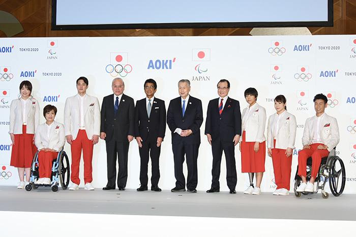 東京2020大会 日本代表ユニホームを発表 | ウェブ電通報