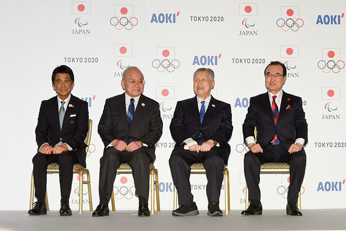 日本代表選手団公式服装発表会でのあいさつ