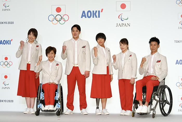 日本代表選手団公式服装(開会式用)