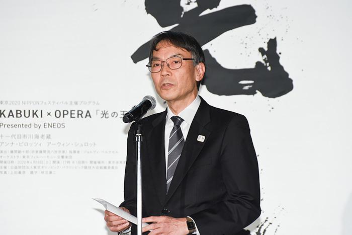 東京2020NIPPON フェスティバル「KABUKI×OPERA」記者発表