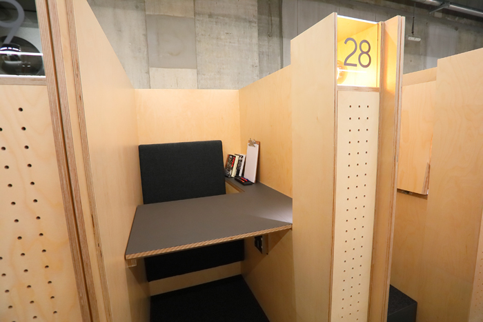 「IDEATION BOOTH」の様子