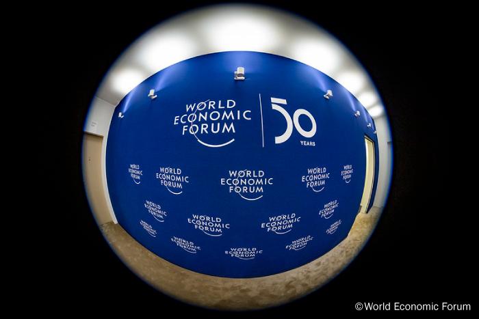世界経済フォーラムのオフィシャル写真からのイメージ