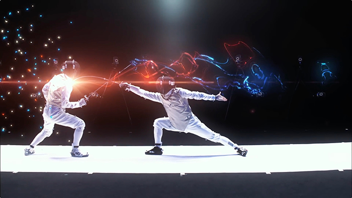 Yuki Ota Fencing Visualized Project - fencing × technology