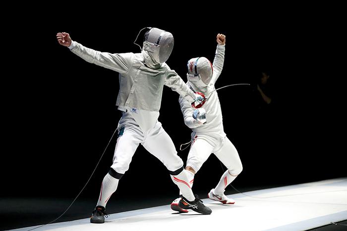 写真:竹見脩吾・日本フェンシング協会