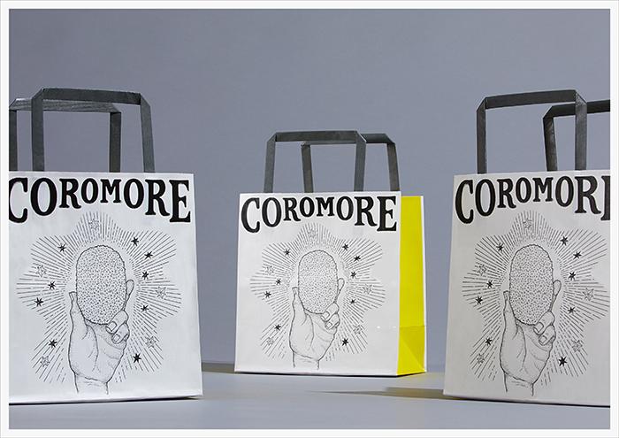 「COROMORE」の紙袋