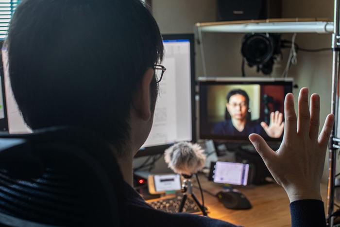 筆者のビデオ会議環境