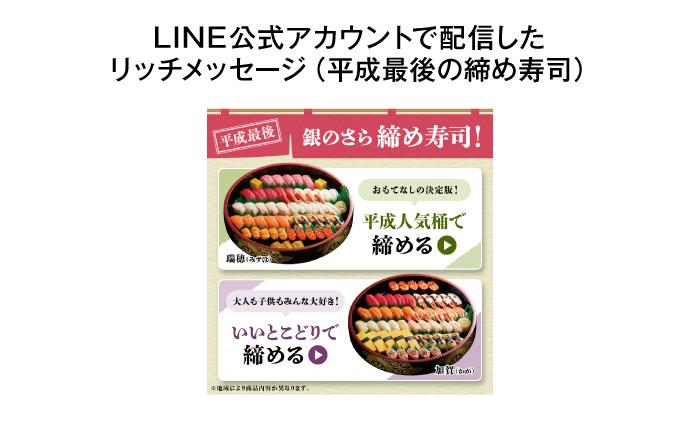 平成最後の締め寿司