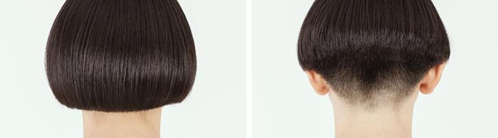 皮膚と髪の境界をなめらかに