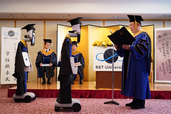 アバター卒業式