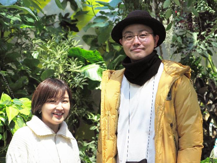 齊藤社長とインタビュアー永井の2ショット