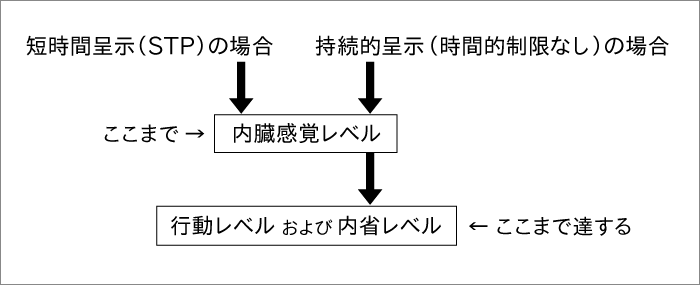 STP(短時間呈示)がバイアスを回避する仕組み