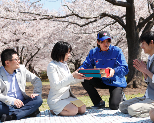 ドミノ・ピザ ジャパン 宅配サービス開始35周年
