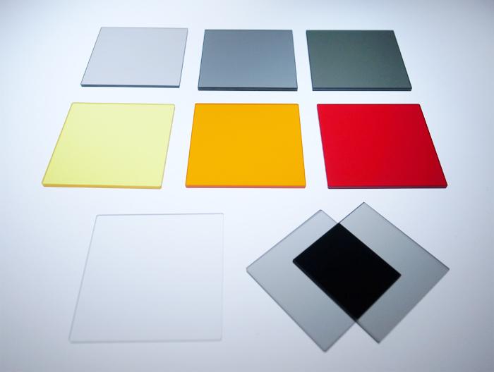 サングラスレンズの技術を応用した光学フィルター