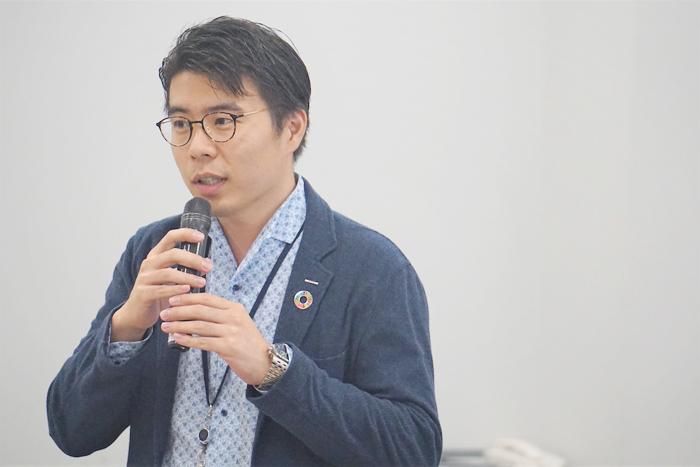 電通 / CDC アーロン・ズー氏