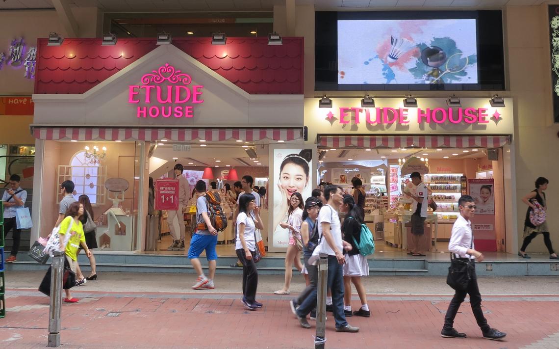 若い世代を中心に人気が高まっている「エチュードハウス」