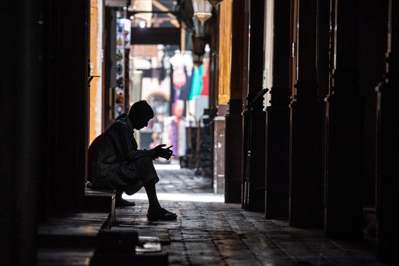「人の居ないバザールで人の集うSNSを」 photo by 中村正樹