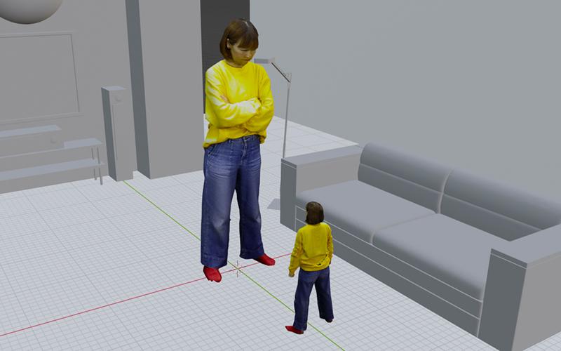 仮想空間イメージ1