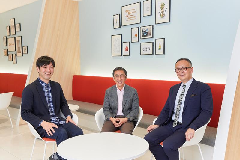 (左から)予防医学研究者の石川氏、味の素執行役員の岡本氏、「BRUTUS」編集長の西田氏