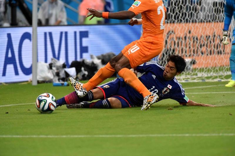 サッカーのワールドカップ(W杯)ブラジル大会_香川真司選手