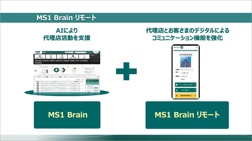 MS1 BrainとMS1 Brainリモート