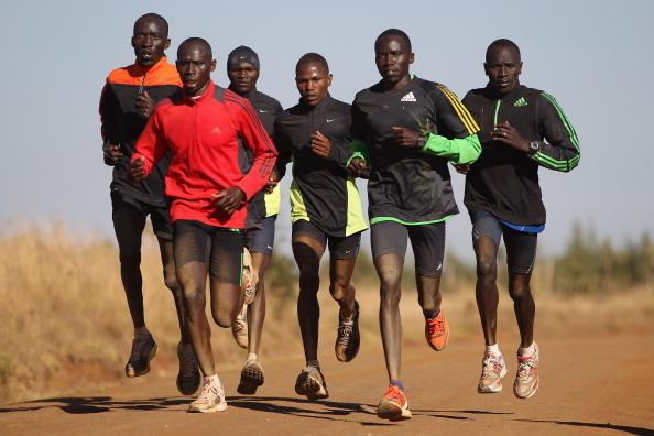 ケニアにあるスポーツキャンプの日常 Photo by Michael Steele / Getty Images