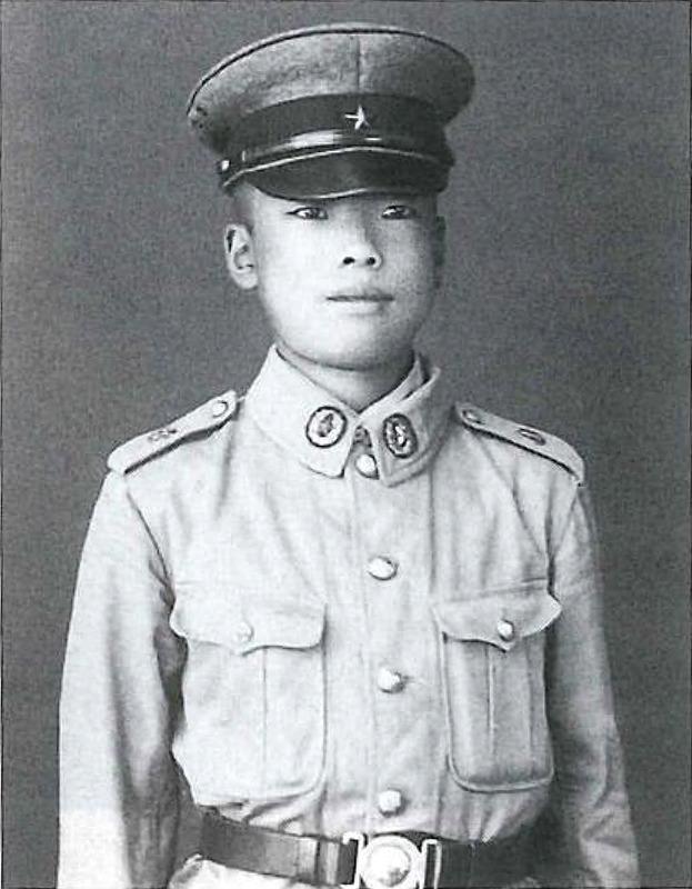 昭和19年、名古屋陸軍幼年学校に入学