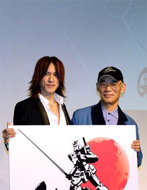 SUGIZO氏と富野氏
