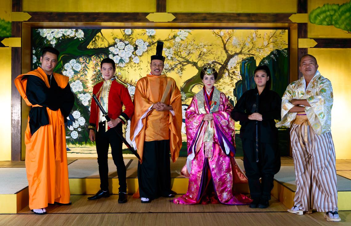 「Takeshi's Castle」には 現地の人気俳優やコメディアンが出演