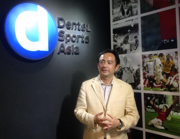 電通スポーツアジアの森村國仁社長兼CEO