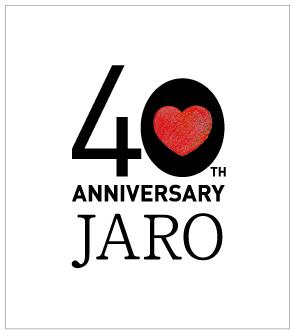 JARO40周年記念シンポジウム(ロゴ)