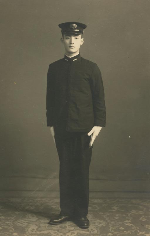 1944年、慶応義塾大学法学部在学中の近藤朔