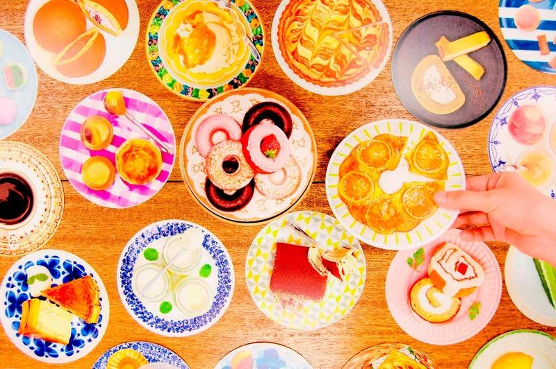 ろーかる・ぐるぐる41 お茶会皿2