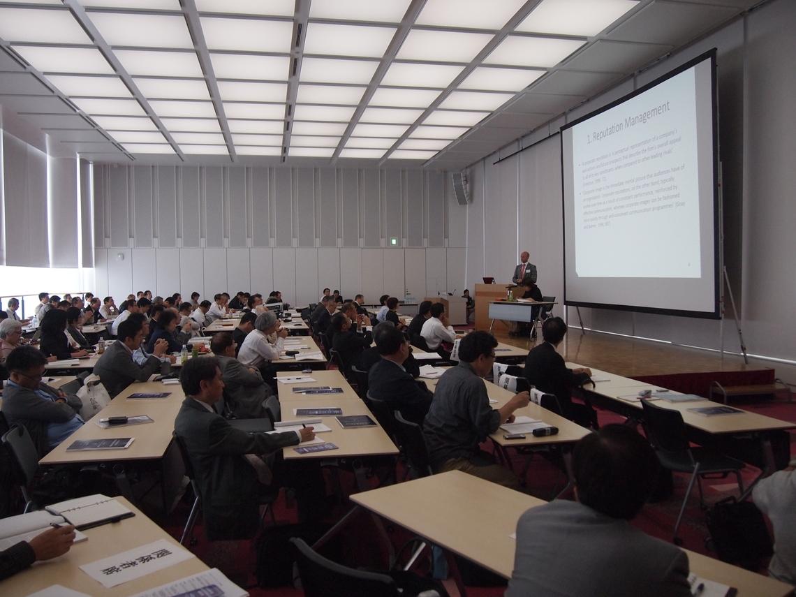 日本広報学会第19回研究発表大会(東京・文京区の東洋大白山キャンパス)