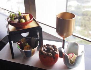 なだ万 汐留47[日本料理]_秋の旬菜と日本酒のマリアージュ 利き酒セットで