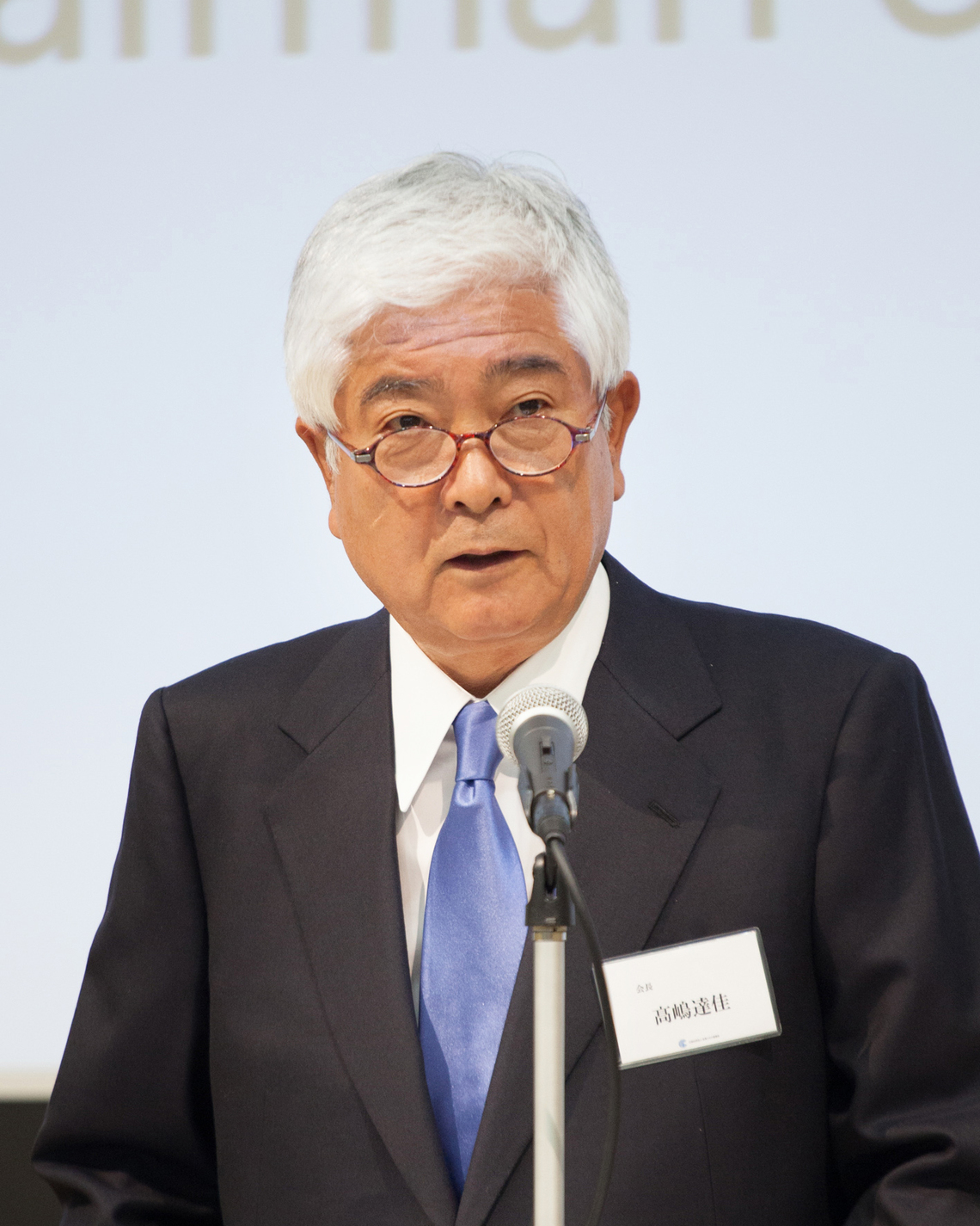 髙嶋達佳会長(電通会長)