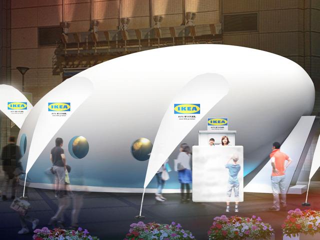 同社は、東京、福岡、大阪の3都市で 街中に卵型のカプセル「めざせ、眠りの先進国カプセル」を設置し、 質の高い眠りが体験できるイベントを順次開催している