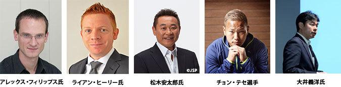 アジアサッカーマネジメントセミナー登壇者