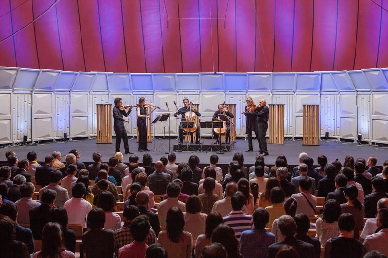 ルツェルン祝祭管弦楽団メンバーによる弦楽六重奏 © LUCERNE FESTIVAL ARK NOVA 2013