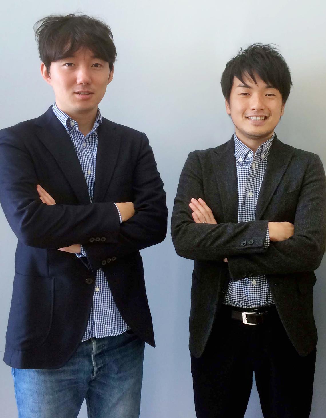 篠塚孝哉氏(左)と山野智久氏