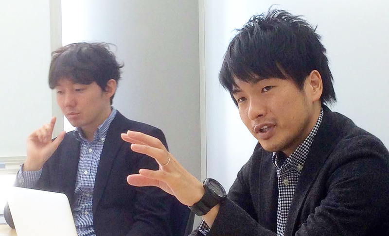 篠塚氏と山野氏