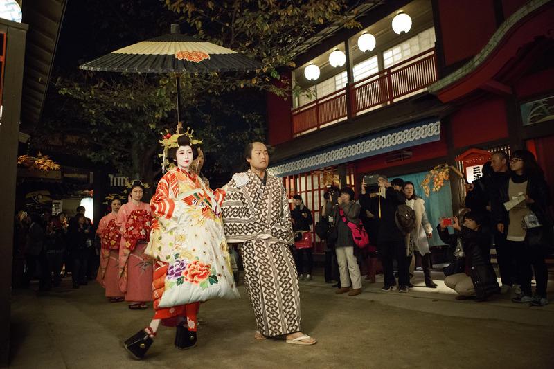 京都が世界に誇る伝統工芸や文化を遊ぶ夜宴「太秦江戸酒場」