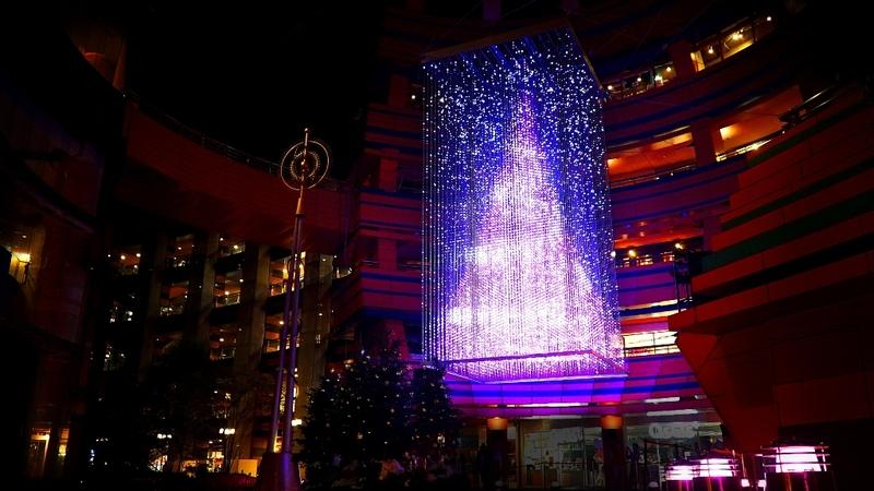 クリスタルツリー2014(キャナルシティ博多)