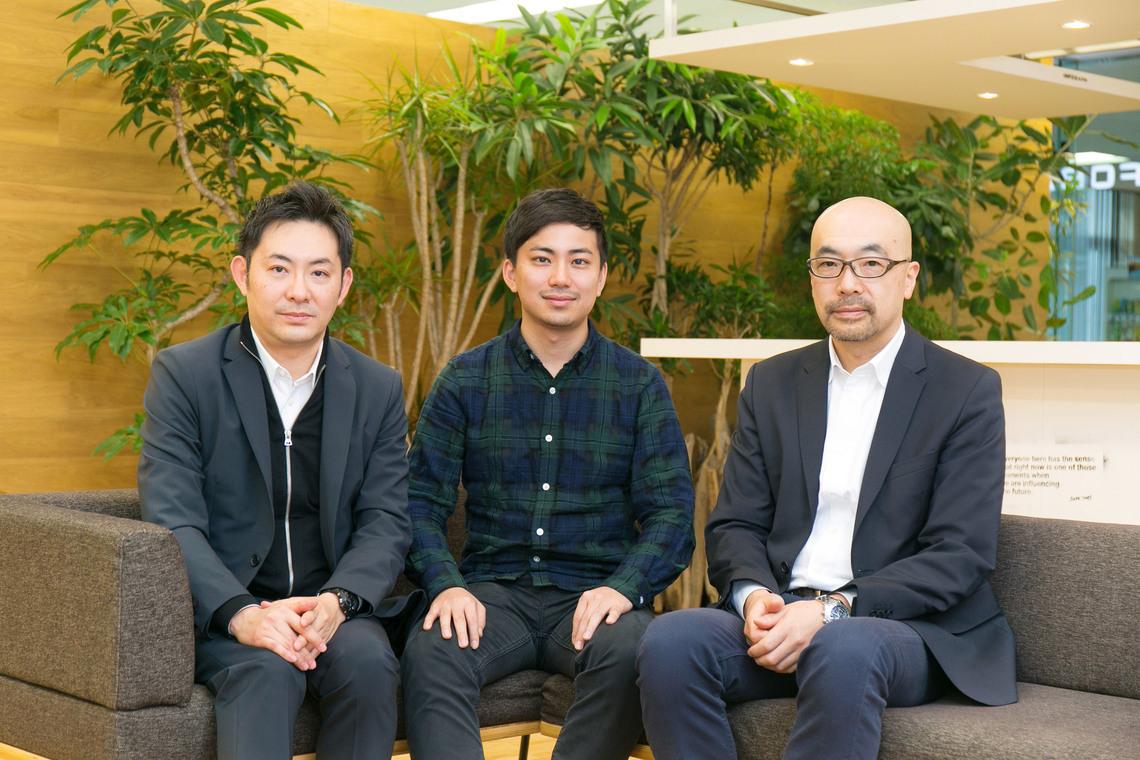 左から南、坂田氏、小林氏