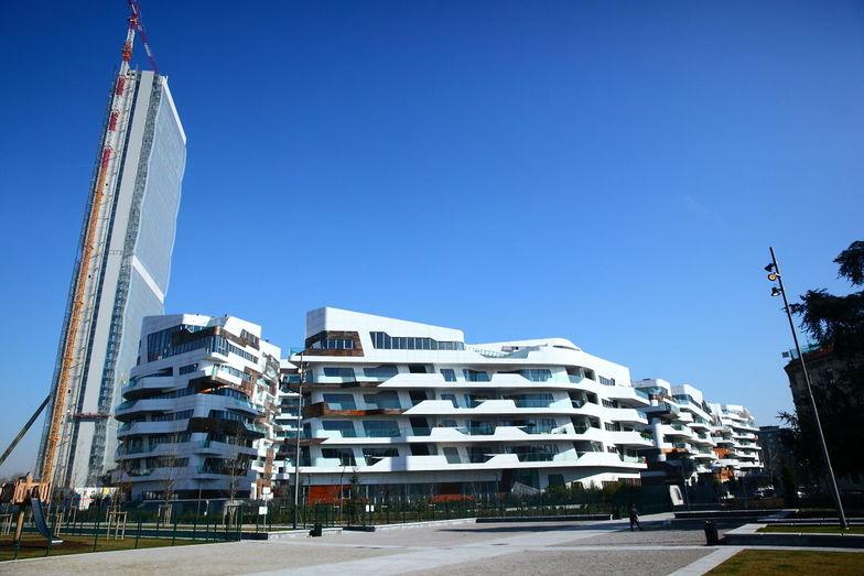 大型都市開発プロジェクト「シティ・ライフ」が進むゾーナ・フィエラ