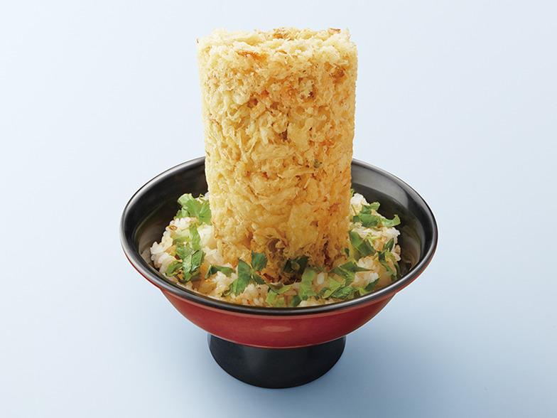 【静岡】海鮮かき揚げタワー丼