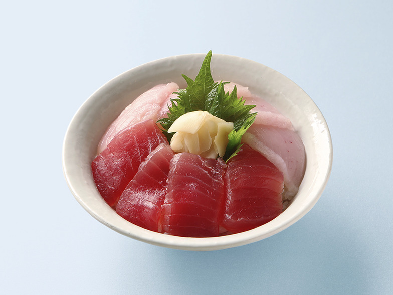 【日本魚祭り公式メニュー】国産まぐろ二色丼