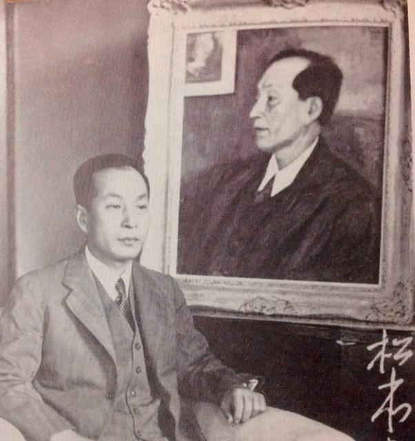 満州日日新聞社長時代の松本豊三